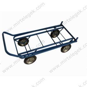 Платформний чотириколісний візок фото