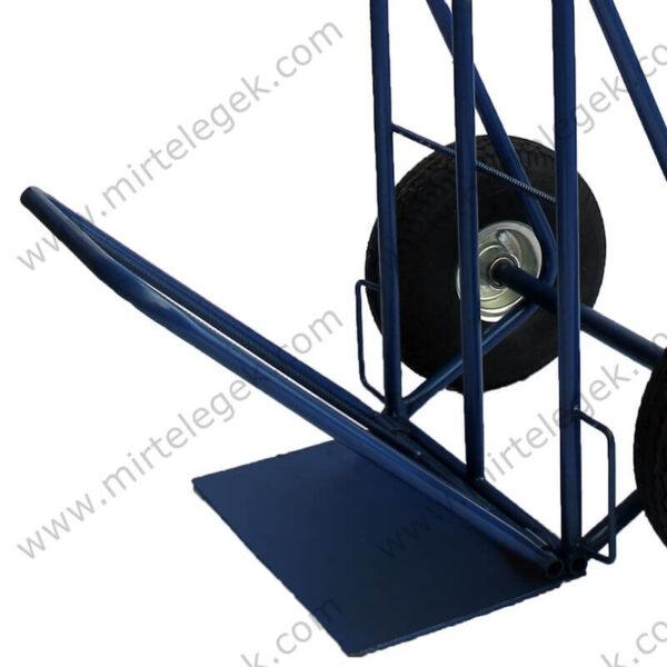 Двойная платформа грузовой ручной тележки фото