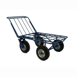 Тележка грузовая с поворотным колесом фото