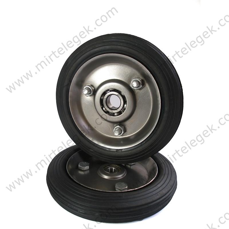 колесо кн-160 литое с подшипником фото