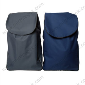 Сумки для візків синя та сіра фото