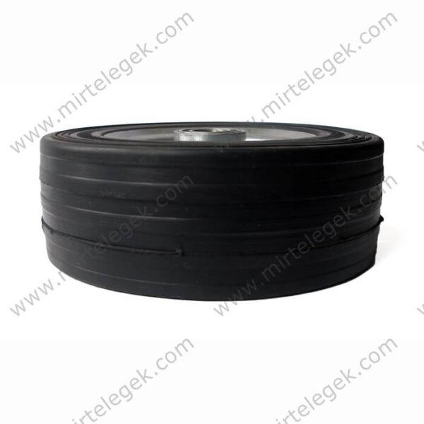 великовантажне колесо для візка лита гума фото