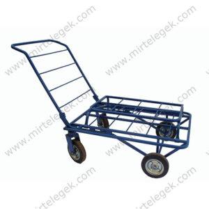 візок чотириколісний з бортом